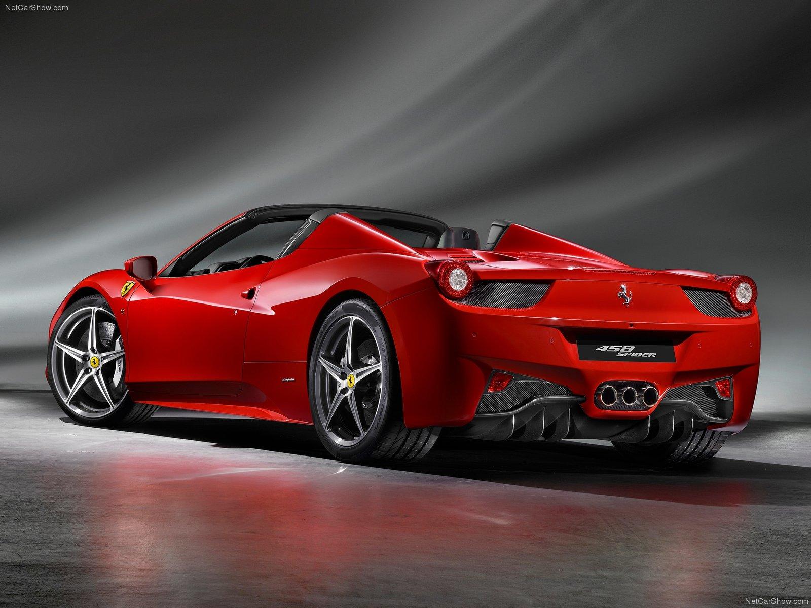 Ferrari 458 Spider !