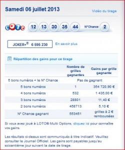 tirage-loto-samedi-6-juillet-résultat-numéros-gagnants-rapport