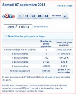 resultat-loto-tirage-samedi-7-septembre-rapport-numero-gagnant