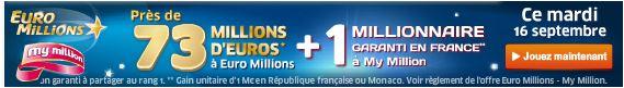 jackpot mardi 16 septembre euromillions SYSTEME pour gagner au LOTO et à EUROMILLIONS (Lotto Belge, Swiss, Québec etc)