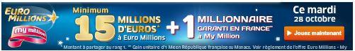 euromillions mardi 28 octobre SYSTEME pour gagner au LOTO et à EUROMILLIONS (Lotto Belge, Swiss, Québec etc)