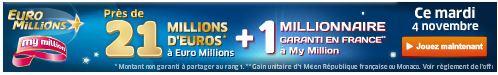 euromillions mardi 4 novembre SYSTEME pour gagner au LOTO et à EUROMILLIONS (Lotto Belge, Swiss, Québec etc)