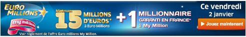 jackpot vendredi  euromillions
