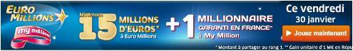 jackpot euromillions vendredi 30 janvier
