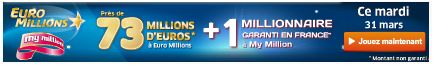jackpot euromillions mardi 31 mars