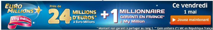jackpot euromillions vendredi 1 mai