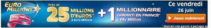 jackpot euro millions vendredi 26 juin