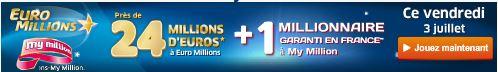 jackpot vendredi 3 juillet euromillions