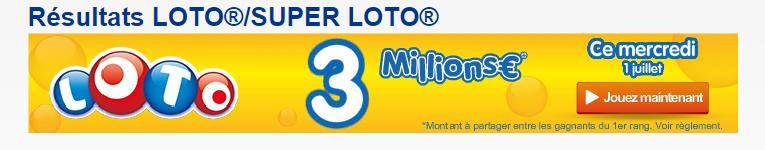 loto mercredi 01 juillet