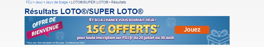 resultat loto 09-08-2015
