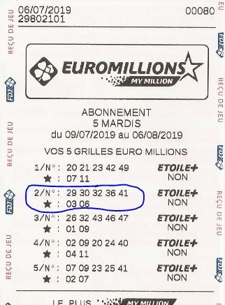 Plus de chance au loto ?